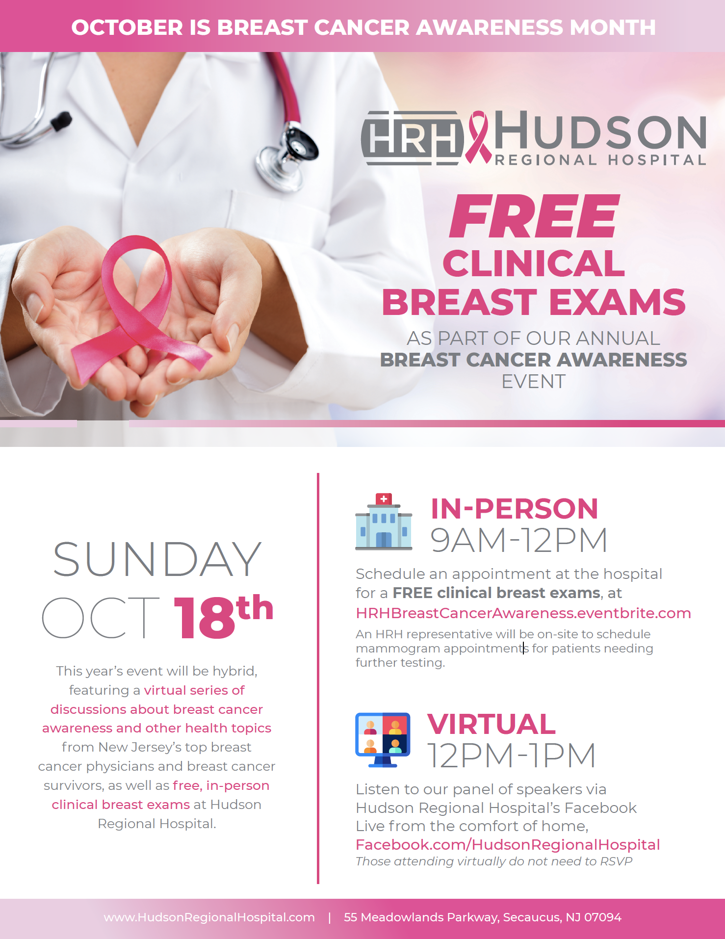 Free Clinical Breast Exams