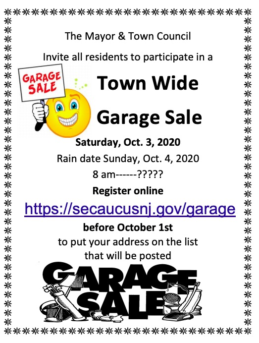 Click for PDF - Townwide garage sale